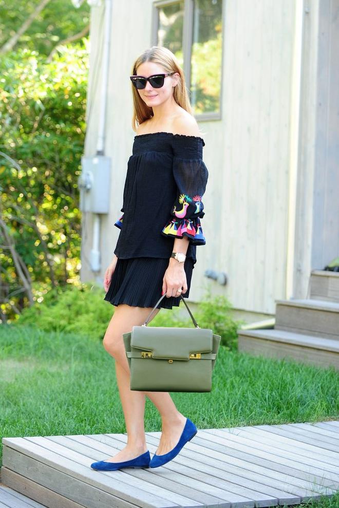 Как носить черное мини-платье: 5 примеров от знаменитостей