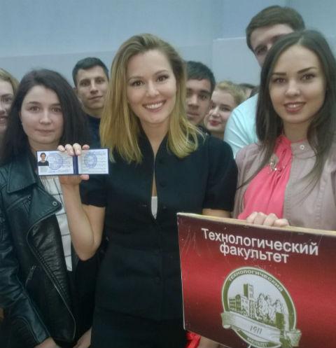 274 Мария Кожевникова вновь стала студенткой