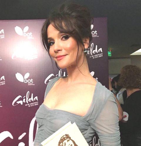 Наталья Орейро поразила фигурой в прозрачном платье
