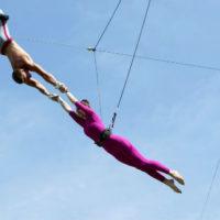 2 июня в Парке Горького откроется летняя школа воздушной гимнастики «Трапеция Yota»