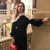 Екатерина Андреева терпит боль ради красоты