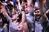 13671 Femen провело акцию протеста перед избирательным участком Марин Ле Пен