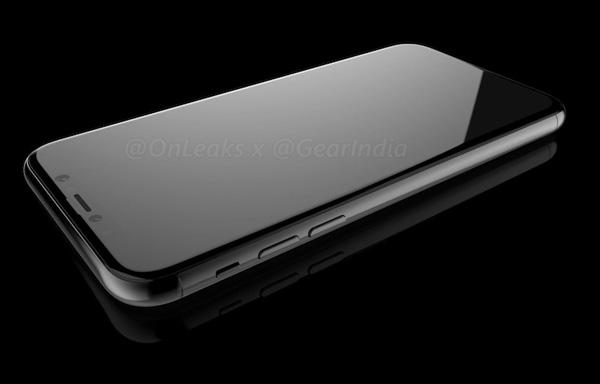 13885 iPhone 8 появился на заводских рендерах