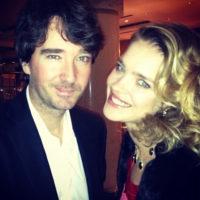 Наталья Водянова познакомила супруга с сестрой Оксаной