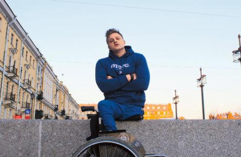 14834 Парень, лишившийся ноги, начал новую жизнь и стал популярным блогером
