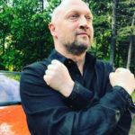 Гоша Куценко показал новорожденную дочь