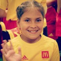 Криштиану Роналду принес популярность 10-летней россиянке в инвалидном кресле