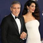 15523 Супруга Джорджа Клуни подарила ему близнецов