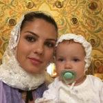 18567 Алексей Рыжов крестил дочь. ФОТО