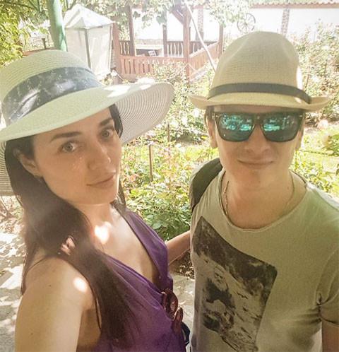 Глеб Матвейчук укрепляет отношения с новой избранницей