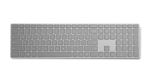 17321 Microsoft выпустила клавиатуру Modern Keyboard со скрытым дактилоскопическим сенсором