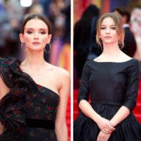 Паулина Андреева и Светлана Устинова поразили стильными образами на красной дорожке