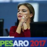20842 Алина Кабаева привлекла внимание итальянцев прозрачным платьем