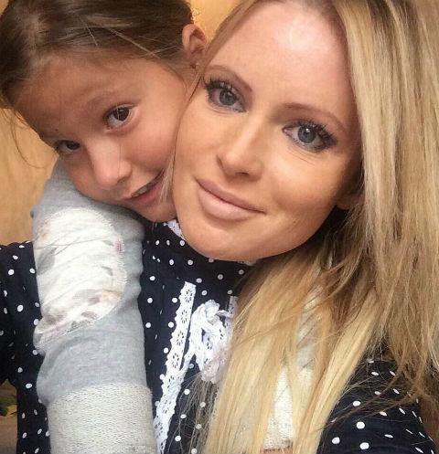 Бывший муж Даны Борисовой позволил ей увидеть дочь