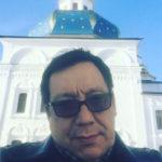 Егор Кончаловский крестил сына
