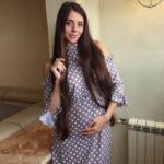 Ольга Рапунцель перестала скрывать округлившийся животик