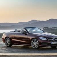 Российские продажи нового кабриолета Е-Класса стартуют в августе