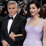 21408 Джордж и Амаль Клуни не находят себе места из-за близнецов