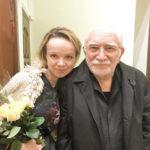 Армен Джигарханян впервые встретился с супругой после начала конфликта