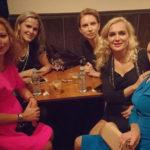 25084 Беременная Елена Захарова развлеклась на вечеринке с Марией Порошиной