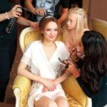 25380 Диана Шурыгина посетила консультацию хирурга перед пластикой груди