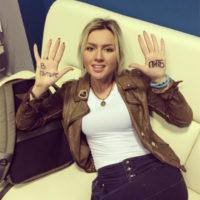 Сара Окс устроила скандал Диме Билану на съемках «Голоса»