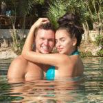 25824 Антон Гусев и Виктория Романец устроили жаркую фотосессию в парной