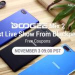 DOOGEE MIX 2 готов дебюту: онлайн-шоу уже сегодня!