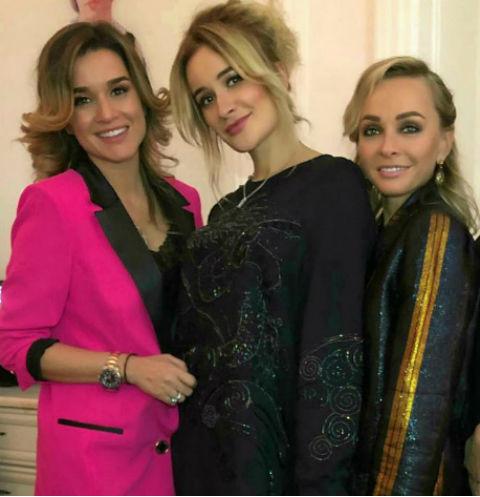 Наталья Варвина отметила юбилей в компании звездных подруг