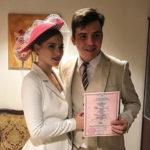 Саша Артемова и Евгений Кузин поженились