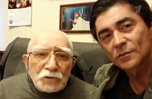 Армен Джигарханян встретился с сыном впервые за 20 лет