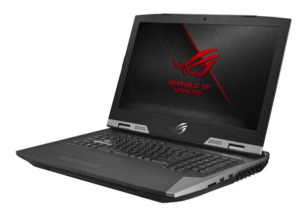 ASUS анонсировала мощные игровые ноутбуки серии Republic of Gamers