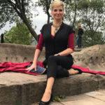 Мария Максакова устроила мастер-класс для младшего сына