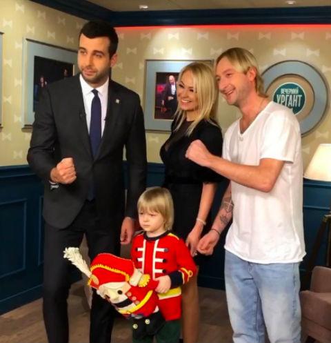 Сын Евгения Плющенко выложил компромат на отца