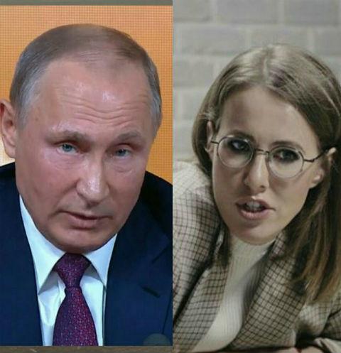 Владимир Путин прокомментировал предвыборную позицию Ксении Собчак