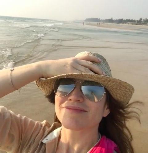 Алена Хмельницкая отдыхает с молодым возлюбленным