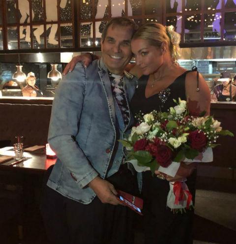 Анастасия Волочкова отметила день рождения с Бари Алибасовым