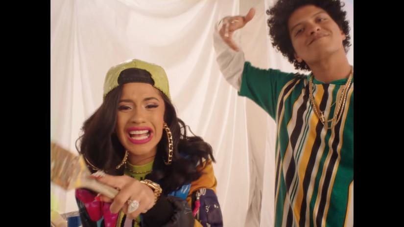 Bruno Mars Feat. Cardi B — Finesse (Remix), новый клип