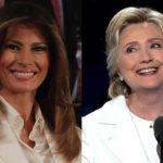 31234 Мнение в сети: Мелания Трамп повторила образ Хилари Клинтон в отместку мужу из-за скандала с изменами