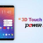 Смартфон Ulefone Power 3: как работает функция 3D Touch для Android