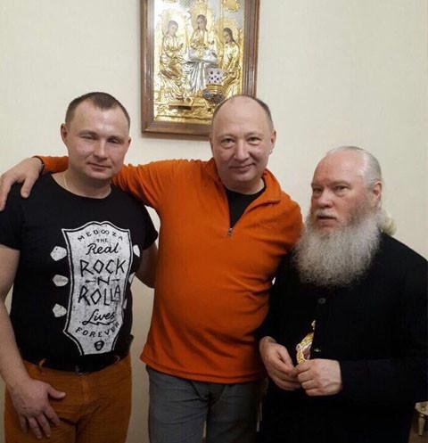 Юрий Гальцев проведал сына в реабилитационном центре