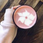 Для влюбленных в ЗОЖ: «Хлеб Насущный» презентует розовый латте