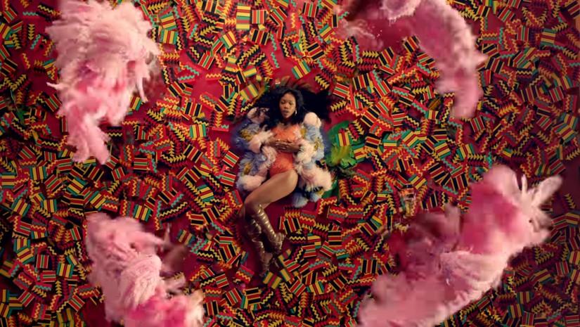 Kendrick Lamar and SZA — All The Stars, новый клип