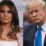 Мелания Трамп вновь публично отвергла мужа после скандала с его изменой
