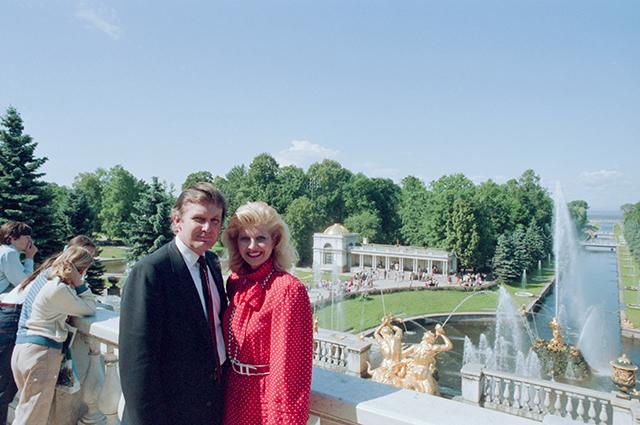 Минутка ретро: зачем Дональд Трамп приезжал в Ленинград в 1987 году