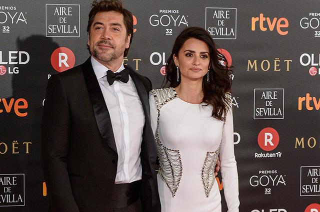 Пенелопа Крус и Хавьер Бардем на церемонии вручения премий Goya Cinema Awards—2018 в Мадриде
