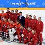32909 Сборная России по хоккею впервые за 26 лет одержала победу на Олимпиаде