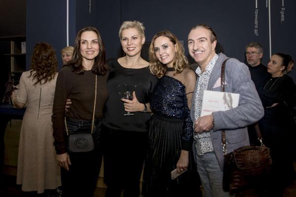 Стоцкая, Дольникова и Ручка на закрытом показе спектакля Лики Рулла