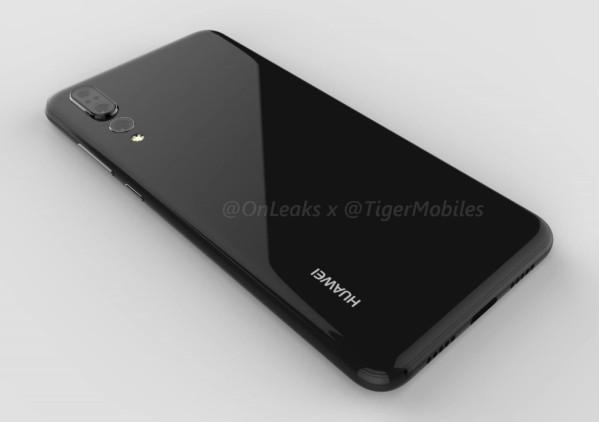 В интернете появился рендер Huawei P20 Plus