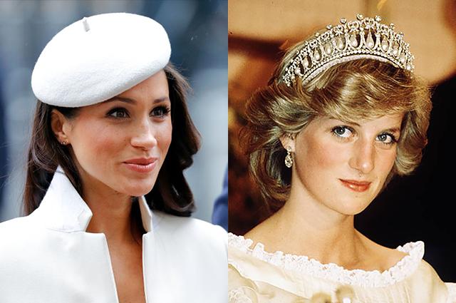 Бывший королевский дворецкий рассказал о сходстве Меган Маркл и принцессы Дианы